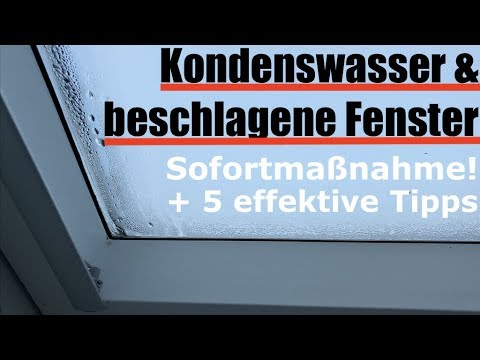 kondenswasser fenster innen beschlagen was tun wie vermeiden youtube. Black Bedroom Furniture Sets. Home Design Ideas