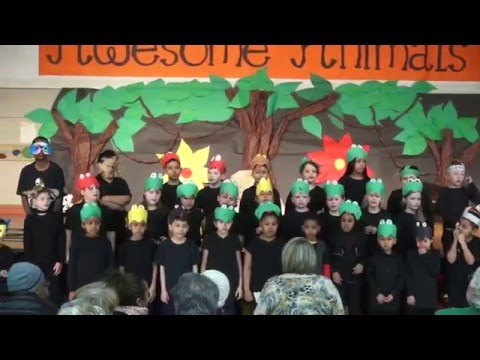 """Awesome Animals"" - Stevenson Elementary 2nd Grade Musical"