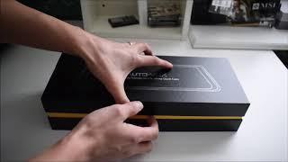 [Unboxing] Auto-Vox A1 Dashcam 9.88'' Dual Lens Car DVR Rearview Mirror Camera Recorder