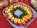 Brochetas de frutas-Receta Entre Fogones