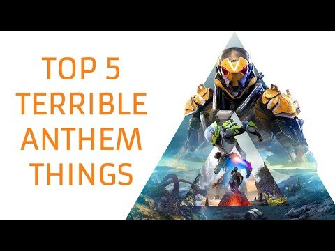 Top 5 Worst Things in Anthem Demo