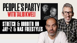 Stretch & Bobbito On Playing Jay-Z, Nas, And Fat Joe Their Earliest Freestyles | People's Party Clip