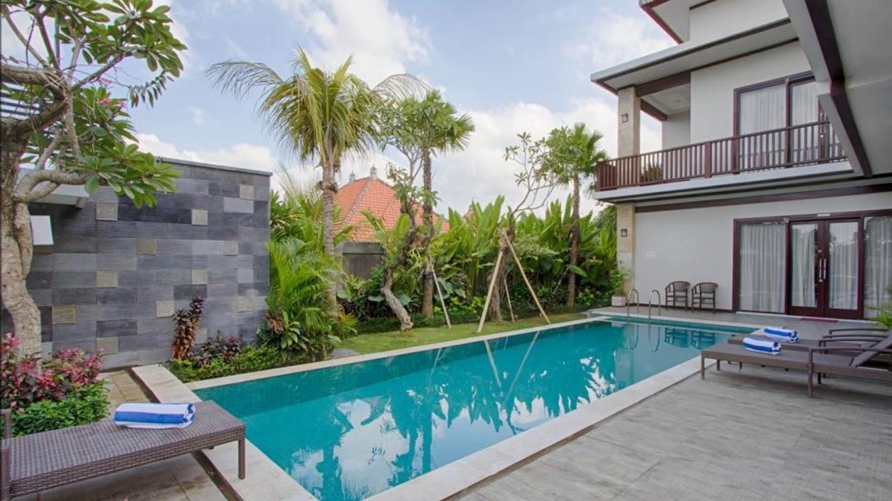 Amelle Villas Villas In Bali Canggu Youtube