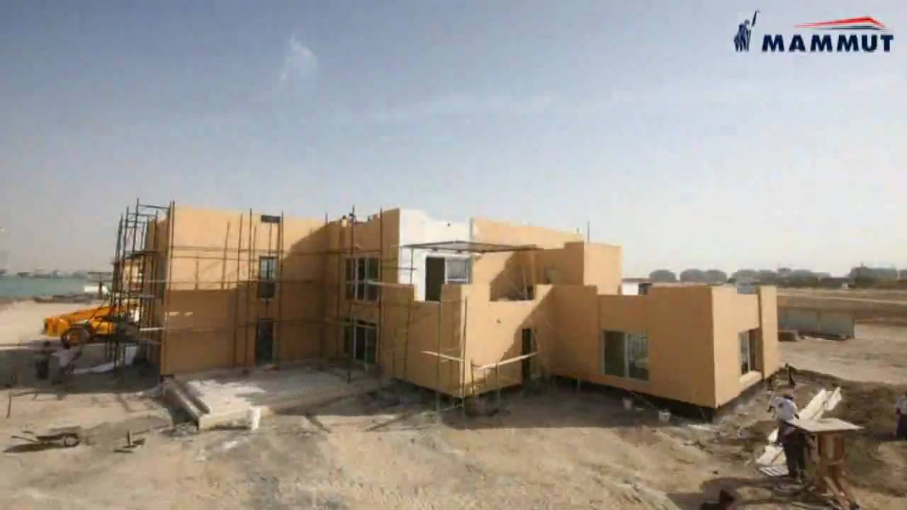 Mammut Precast Builds House In  Days YouTube - Prefabricated concrete homes designs