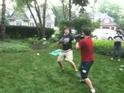 backyard boxing on the 4th of july 1 youtube