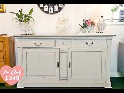 Superior Quality Shabby Chic Sideboard 349 Rrp 899 Youtube