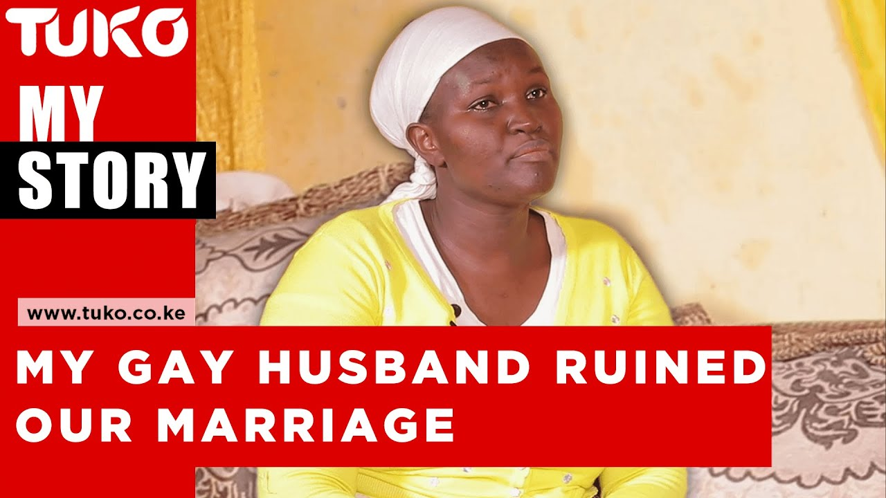 My Gay husband wanted to kill me when I discovered he was gay, He abandoned me and  our kids-Tuko TV