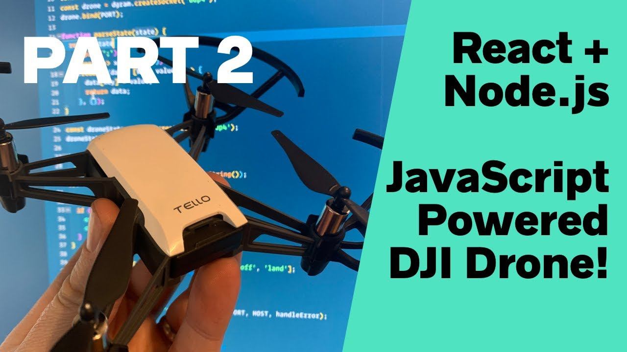 Flying a DJI Tello Drone with React and Node js | Wes Bos