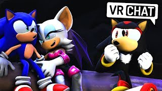 Sonic, Shadow & Rouge Go Camping! (VR Chat)
