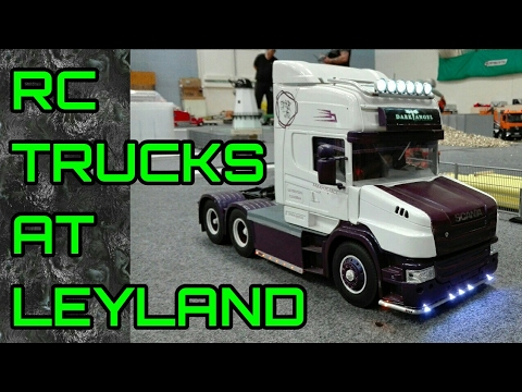 RC TRUCKS @ LEYLAND - JUNE 2017 - TAMIYA RC SEMI TRUCKS