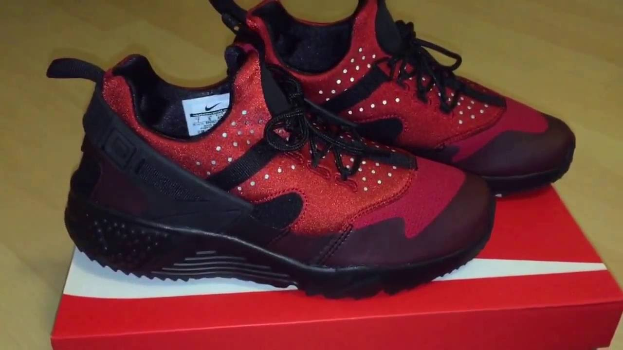 low priced 4850a 01d27 Nike Huarache Utility (Gym Red/Black). LoKi One