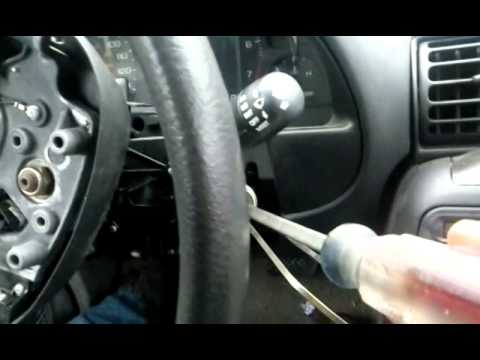 Saturn Vue Ignition Cylinder Removal Re Key And Re Ins