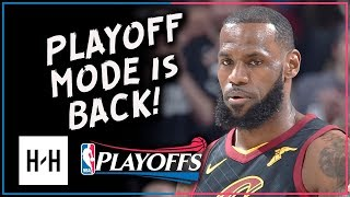 LeBron James AMAZING Full Game 2 Highlights Cavs vs Pacers 2018 Playoffs - 46 Points, 12 Reb!