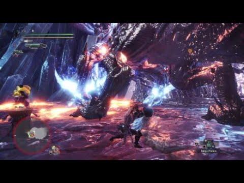 Monster Hunter World Switch Axe Arch Tempered Xeno'jiiva solo thumbnail