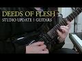 Capture de la vidéo Deeds Of Flesh : Studio Update | Guitars (Unique Leader Records)