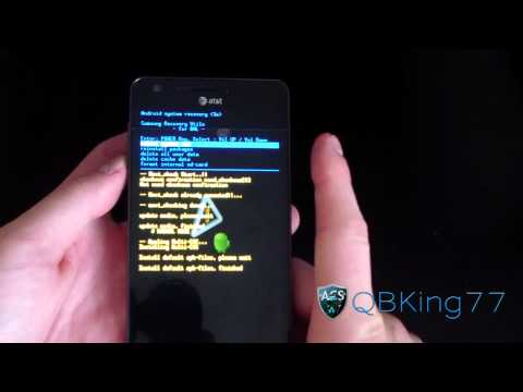 How to Install Clockworkmod Recovery on the Samsung Infuse 4G