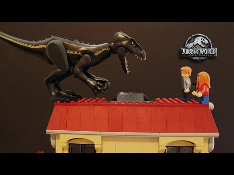 LEGO Cyclops - Jurassic World Fallen Kingdom - PART 2 - Stopmotion