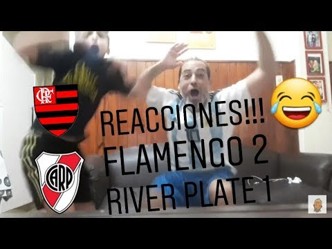 REACCIONES FLAMENGO 2 RIVER PLATE 1! FLAMENGO CAMPEÓN COPA LIBERTADORES!