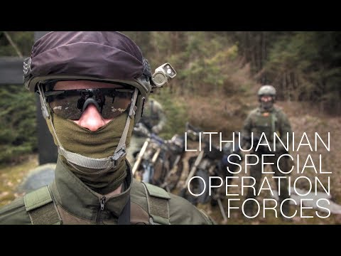 Terrorists' Worst Nightmare: Lithuanian Special Operation Forces  'AITVARAS'