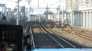 JR東日本E231系 高崎行きが走行中(車内より)