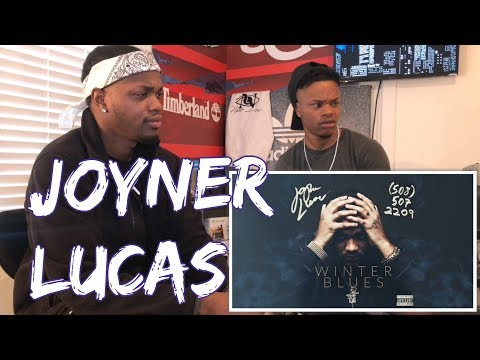 Joyner Lucas - Winter Blues (508)-507-2209 (Audio Only) - REACTION