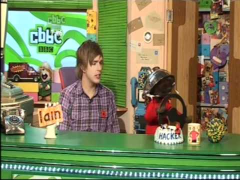 CBBC| Iain & Hacker- Formula One Race..