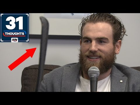 Ryan O'Reilly On His Crazy Stick Blade, Signing Offer Sheets And More! | 31 Thoughts