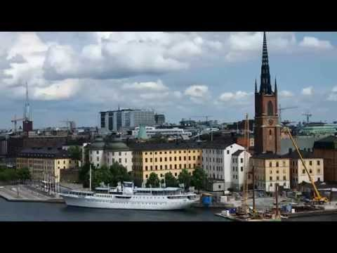 Stockholm City Tour Sweden in 7 Minutes HD