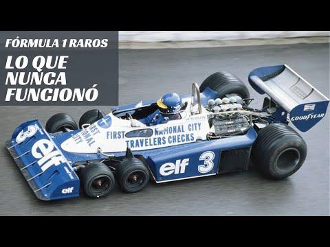 Los Fórmula 1 Raros... Inventos que no funcionaron
