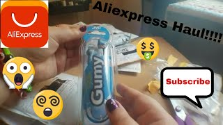 Aliexpress Haul #6 - Electronics, Kitchen Gadgets, Jewelry and More!!! (No Shipping!!)