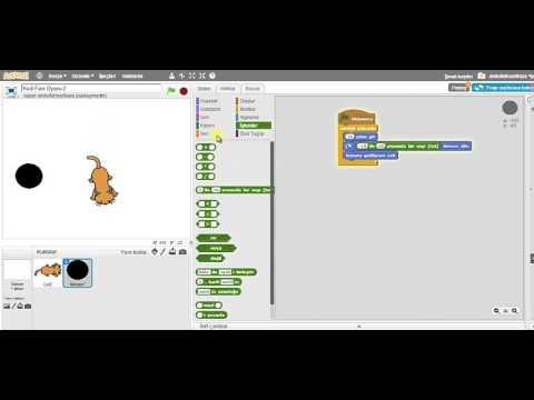 Scratch Eğitimi 201 - Ders 17 - Oyun Örnekleri: Kedi Fare - Bölüm 3