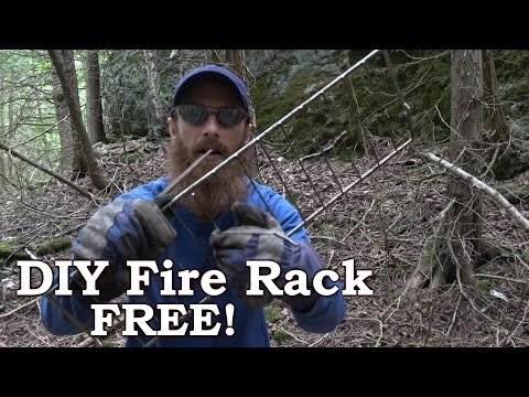 How To Build A Great Camping Fire Grill - Cheap or Free, Portable, Light, Customizable!