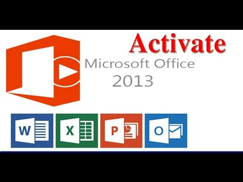 microsoft office 2013 activate