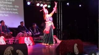 Ishita Bhattacharya performing at Edinburgh Festival,ei je tomar prem,Edinburgh