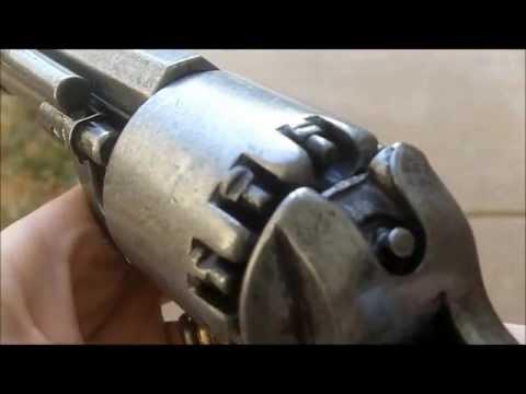 Denix nonFiring Replica Lemat Confederate Pistol Civil War Prop Gun Theater Photography