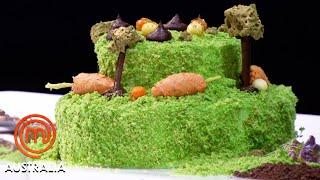 Four-Course Garden-Themed Dessert Team Battle   MasterChef Australia   MasterChef World