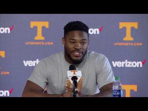 Tennessee Football Media Availability - 11.23.16