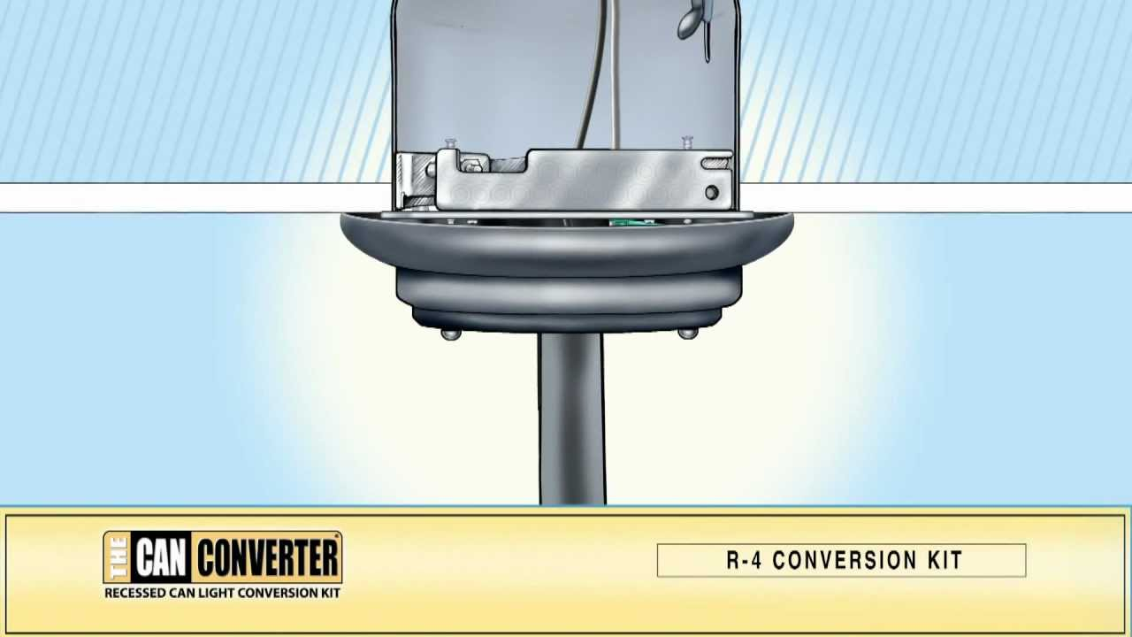 The Can Converter Model R4. How to Install, Pendant Lighting, Track ...
