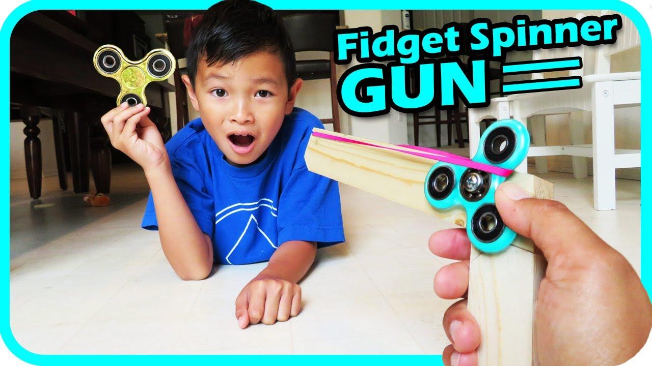 Fidget Spinner Toy Gun Challenge Last Day Of School