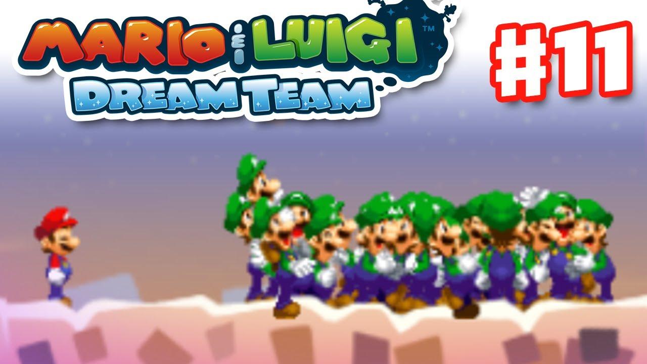 Mario Luigi Dream Team Gameplay Walkthrough Part 11 Luiginoids Nintendo 3ds
