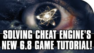 How to Solve Cheat Engine 6.8's New Game Tutorial!