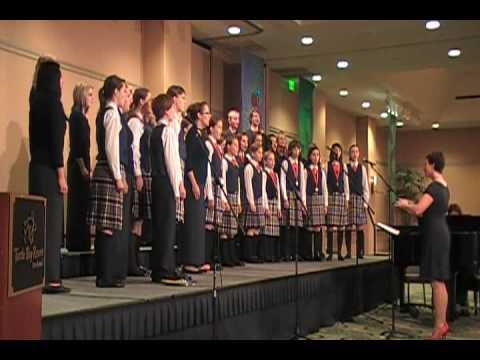 (09P3) HAWAII TOUR Calgary Children's Choir sings Bird's Lullaby