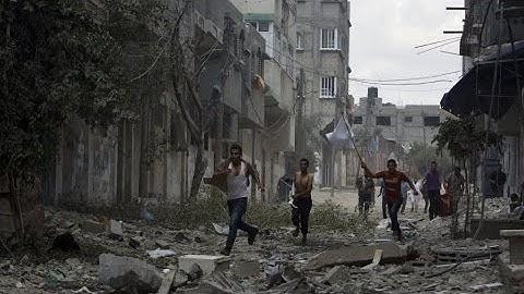 Gaza : 'Des scènes dramatiques, horribles' à Chedjaïa après le bombardement israélien
