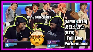 MMA 2019 방탄소년단(BTS) | Full Live Performance [Brothers React]