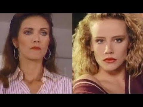 Posing 1991 (Amanda Peterson & Lynda Carter)