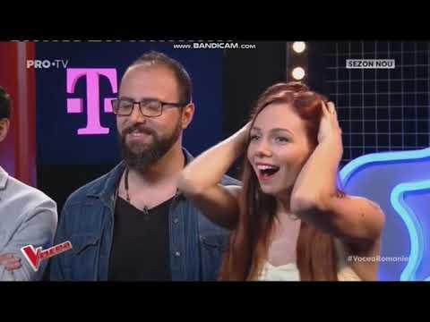 Vocea Romaniei Silvia Vîrlan - Love On The Brain 19.10.2018