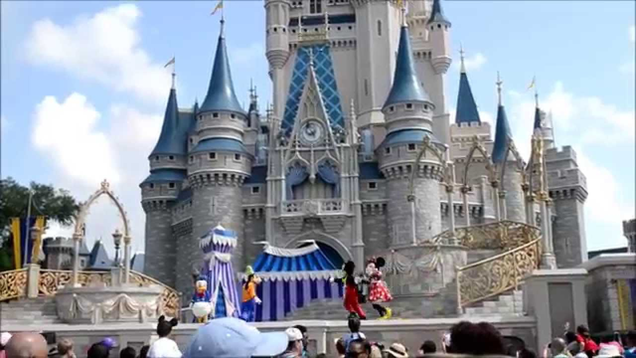 Dream Along With Mickey Disneyworld 2015 Magic Kingdom Orlando