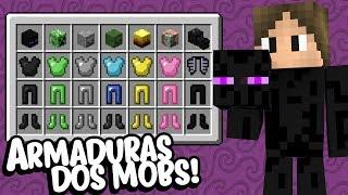Minecraft: CONHEÇA AS NOVAS ARMADURAS DE MOBS DO MINECRAFT! (+ARMADURA DE HEROBRINE)