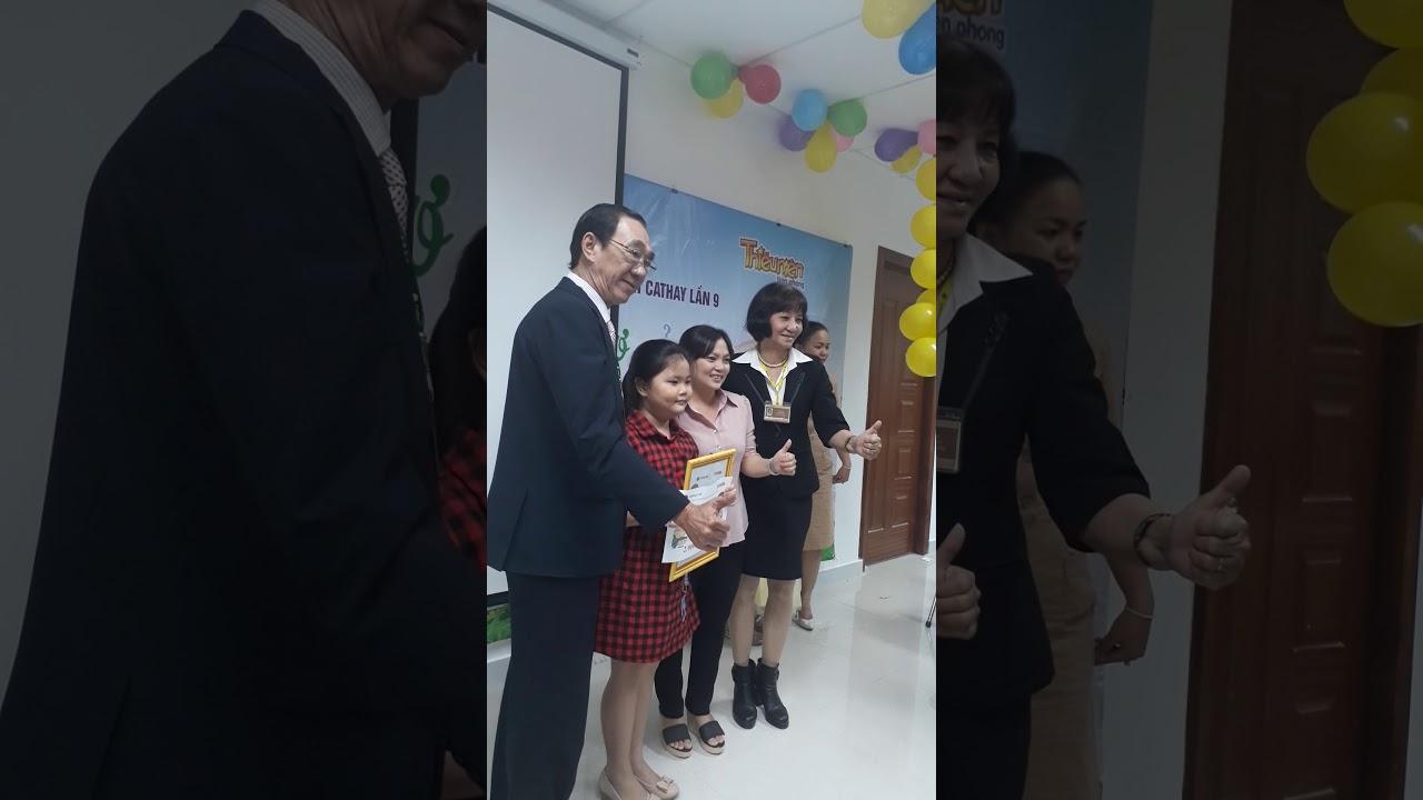Lễ phát thưởng E VẼ ƯỚC MƠ CỦA E lần 9-2017 tại CẦN THƠ