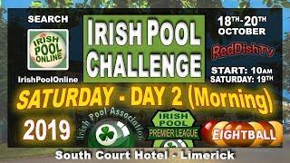 IRISH POOL CHALLENGE 2019 - Ireland's Eightball Tour (SATURDAY) South Court Hotel, Limerick
